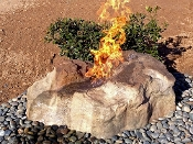 Fire & Water Bubbling Boulder Fountain Kit (aka Rudy's Rock)