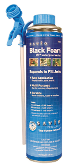 Savio Black Waterfall Spray Foam - 16 oz