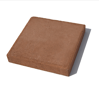 "Riccobene 12"" Beveled Edge Paver in Adobe"