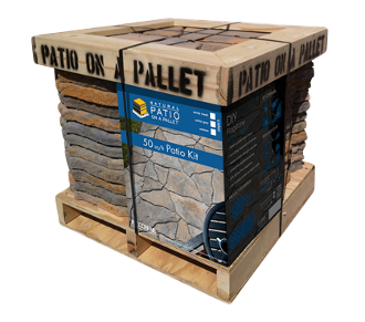 Sereno Stone Patio-on-a-Pallet - Natural Shapes - Sandy Creek