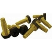 "Aquascape Mat Brass Screw Set 1/4""-20 x 34"""