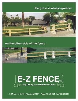 E-Z Fence - Long Lasting Fence Without Post Holes