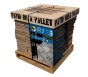 Sereno Stone Patio-on-a-Pallet Rectangular Shapes - Sandy Creek