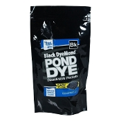 Black DyeMond Pond Dye Packets by Pond Logic - 2 Packet Bag