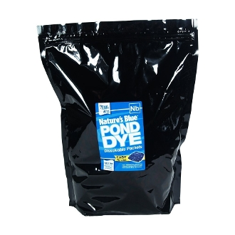Nature's Blue Pond Dye Packets by Pond Logic - 16 Packet Bag